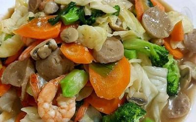 Resep Buka Puasa, Ada Capcay Sayuran Rasanya Mantap