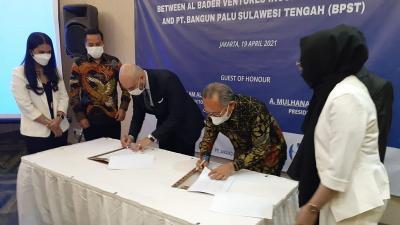 Al Bader Investasi Rp8,7 Triliun di KEK Palu