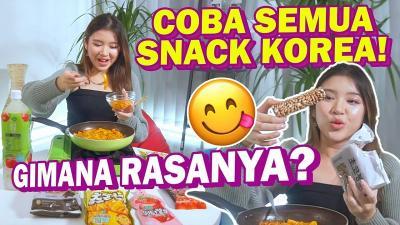 Tiara Idol Mukbang Snack Korea Sambil Curhat
