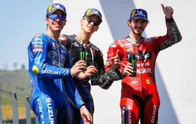 MotoGP Portugal 2021: Bos Suzuki Senang Pembalapnya Kembali ke Podium
