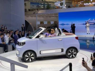 Wuling HongguangMINI EV, Mobil Berjuluk 'Tesla Killer' dengan Atap Terbuka