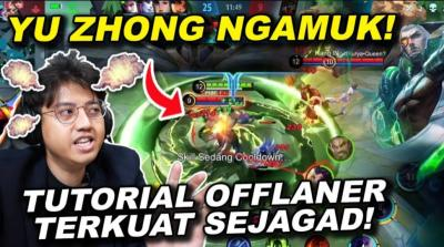 Offlaner Terkuat di Mobile Legends, Ini Tutorial Main Yu Zhong ala Atlet Esports Aville