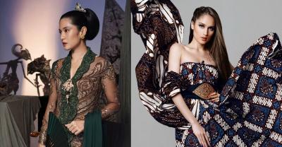 Hari Kartini, Intip 4 Potret Cantik Selebriti Indonesia Berbalut Wastra Nusantara