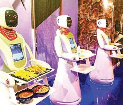Mau Rasakan Makan Dilayani Robot Cerdas? Datang Saja ke Restoran Ini