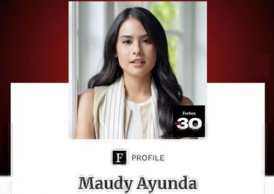 Ungkapan Bangga Maudy Ayunda Masuk Daftar Forbes 30 Under 30 Asia