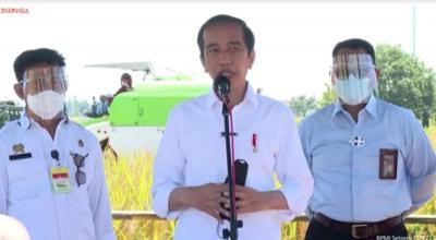 Jokowi: Pemerintah Tak Suka Impor Beras!