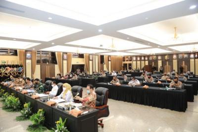 Rakor Lintas Sektoral Jelang Idul Fitri, Kapolri: Keselamatan Rakyat Hukum Tertinggi