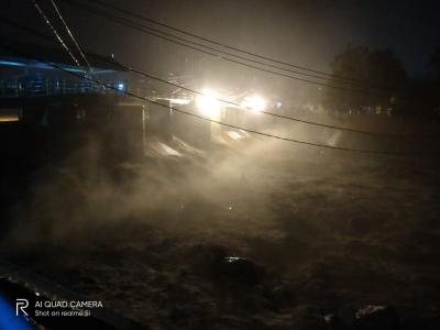 Debit Air Sungai Ciliwung Naik, Bendung Katulampa Siaga III