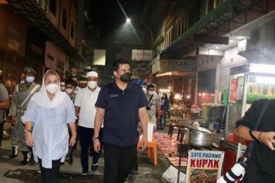 Pengunjung Membeludak, Kesawan City Walk Hanya Diizinkan Buka Sampai Jam 10 Malam
