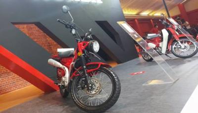 Motor Bebek Termahal di Indonesia Dipamerkan di IIMS Hybrid 2021