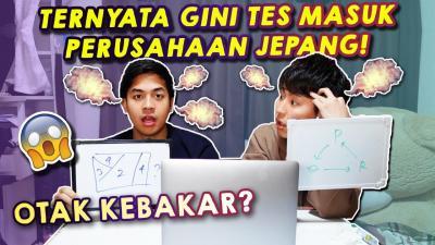 Ini Soal Tes Masuk Perusahaan Jepang, Mahasiswa Waseda University Jerome Polin sampai Kesusahan!