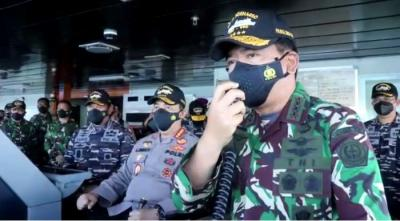 Motivasi Panglima TNI ke Prajurit Pencarian KRI Nanggala: Tabah Sampai Akhir