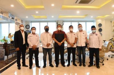 Ketua MPR Terima Kunjungan Pemuda Perindo Bahas 4 Pilar Kebangsaan bagi Milenial