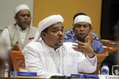 Ketika Habib Rizieq Murka di Persidangan Sambil Tunjuk-Tunjuk JPU