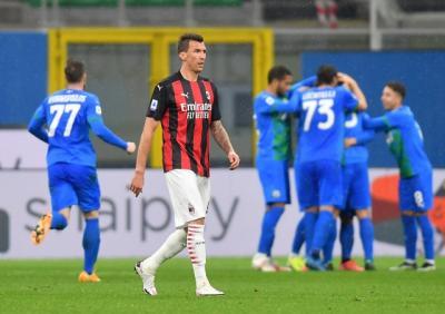 Sassuolo Buat AC Milan Lesu di San Siro