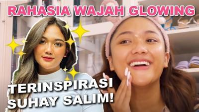 Rahasia Wajah Glowing Marion Jola, Terinspirasi dari Suhay Salim!