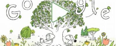 Hari Bumi, Google Doodle Ajak Jaga Kelestarian Alam dengan Tanam Pohon