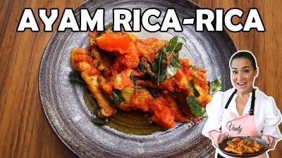 Rekomendasi Menu Buka Puasa : Ayam Rica-Rica dan Kue Bagea ala Mommy Vanty