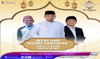 Harta yang Tidak Berkah, Simak Penjelasan Ustaz Yusuf Mansur dan Ustaz Syam di Cahaya Hati Indonesia Ramadan iNews Pukul 12.30 WIB