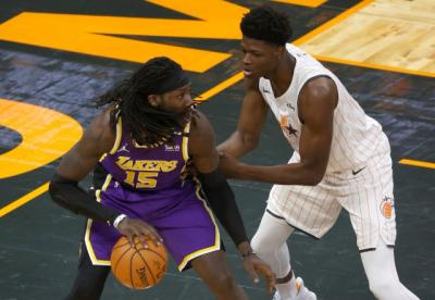 Jadi Pahlawan Kemenangan Lakers atas Magic, Anthony Davis Puji Dennis Schroder