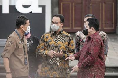 Gandeng Anies Tata Kota Tua-Sunda Kelapa, Erick: Dulu Terminal Kumuh Jadi Friendly