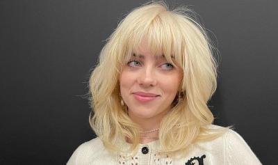 Punya Model Rambut Baru, Billie Eilish Menggoda dalam Balutan Lingerie Hitam