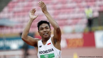 Dijanjikan Bonus, Zohri Pilih Fokus Berlaga di Olimpiade