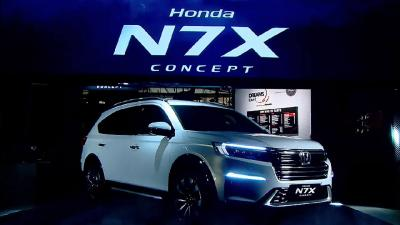 Targetkan Low SUV, Honda N7X Concept Ancam Toyota Rush, Xpander Cross dan Suzuki XL7