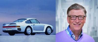Upaya 25 Tahun Bill Gates Keluarkan Porsche 959 dari Penyitaan