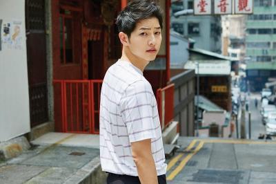 Song Joong Ki Jadi Model Video Musik Lagu Baru Heize
