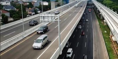 Larangan Mudik, Jalan Layang Sheikh Mohamed Bin Zayed Ditutup Sementara untuk Kendalikan Transportasi