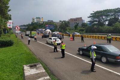 Penyekatan Mudik, 172 Kendaraan Diputar Balik di Kota Bogor