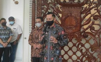 Temui Anies, AHY Mengaku Tak Bahas Pilpres 2024