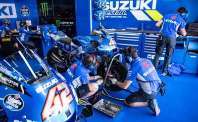 Suzuki Ecstar Jajal Mesin Baru di Tes Pascabalap Jerez