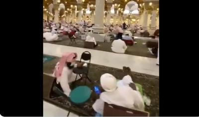 Berburu Lailatul Qadar, Masjid Nabawi Dipadati Jamaah Itikaf Pada Malam Jumat Gajil