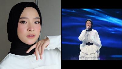 Cantiknya Nissa Sabyan di Voice of Ramadan GTV, Netizen: Pangling Banget