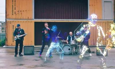 Coldplay Rilis Lagu Baru di Luar Angkasa