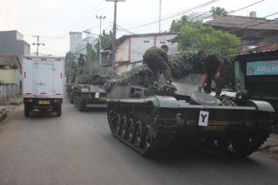 Viral Video TNI Disebut Turunkan Tank Baja Takuti Pemudik, Kapendam Jaya: Hoaks!