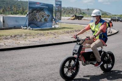 Ini Harapan Sandiaga Uno Terkait Digelarnya Balapan MotoGP dan Superbike di Sirkuit Mandalika