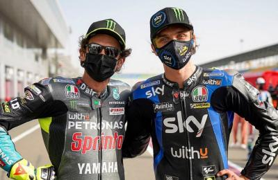 Jeda Balapan, Valentino Rossi dan Luca Marini Kompak Habiskan Waktu dengan Kekasih