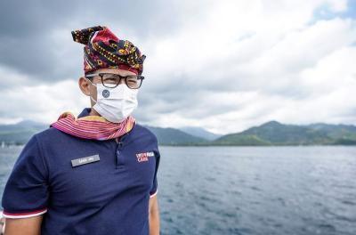 Sandiaga Uno Beberkan Strategi Pemulihan Pariwisata di 3 Gili