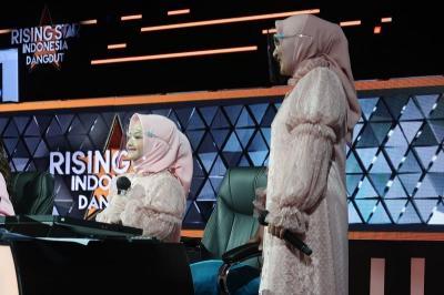 Bawakan Lagu Sayang dan Jadi Expert di Rising Star Indonesia Dangdut, Arsy Trending di YouTube