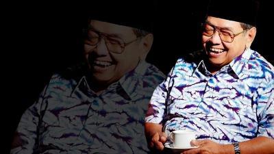 Humor Gus Dur, dari Bandara Abdurrahman Wahid hingga Wartawan Kecele