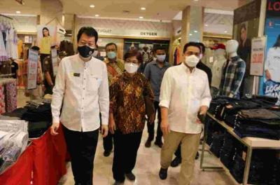 Sambangi Mal dan Apartemen, Wagub DKI Ariza Cek Penerapan Prokes