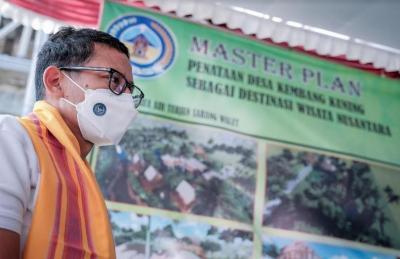 Sandiaga Minta Pelaku Usaha Parekraf di Lombok Maksimalkan Dana Hibah Pariwisata
