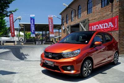 Honda Brio Sumbangkan Penjualan Terbesar pada April 2021