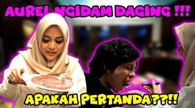 Hamil, Aurel Hermansyah Ngidam Makan Daging Rp1,7 Juta!