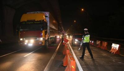 16.537 Kendaraan Diputarbalikkan di 381 Titik Penyekatan Sumatera, Jawa, hingga Bali