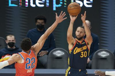 Hasil NBA 2020-2021 Hari Ini: Warriors Menang, Nets Tekuk Nuggets