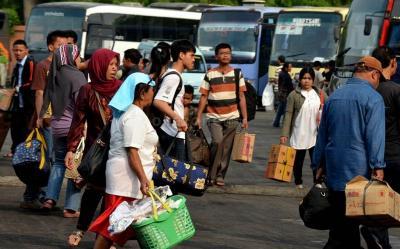 14.751 Penumpang Pergi ke Luar Kota di Hari Ketiga Larangan Mudik